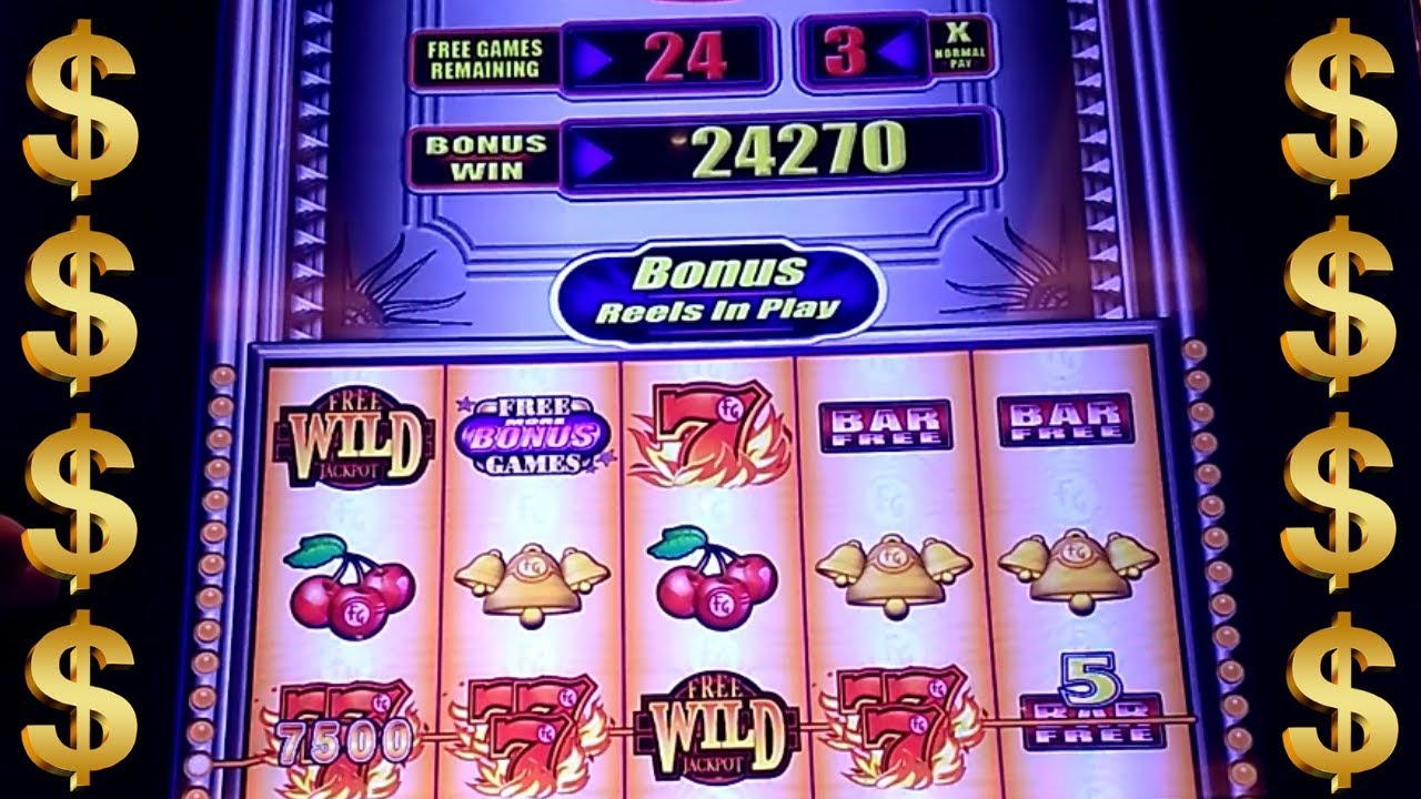 Maryland Live Casino Quick Hits Slot 45 Free Games Won 3x Pay Max Bet Youtube