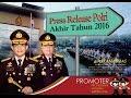 Silaturahmi & Press Release Polri Akhir Tahun 2016 Bersama Kapolri