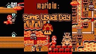 Mario in: Some Usual Day [#4] • Super Mario Bros. 3 ROM Hack (Playthrough)
