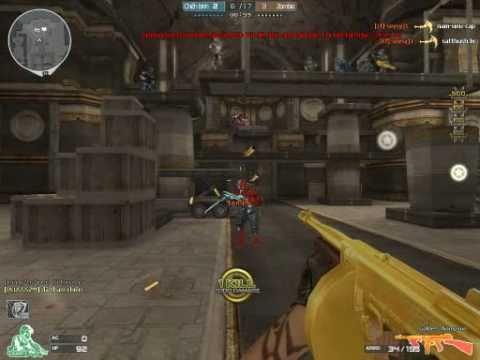 Crossfire VN - Golden Thompson vs. Zombie