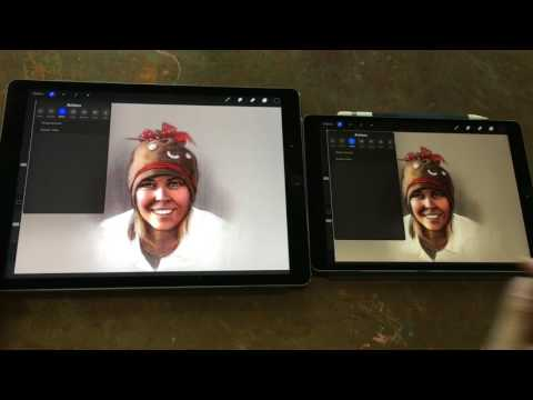 iPad Pro 10.5 Artist Review (vs original iPad Pro 12.9)