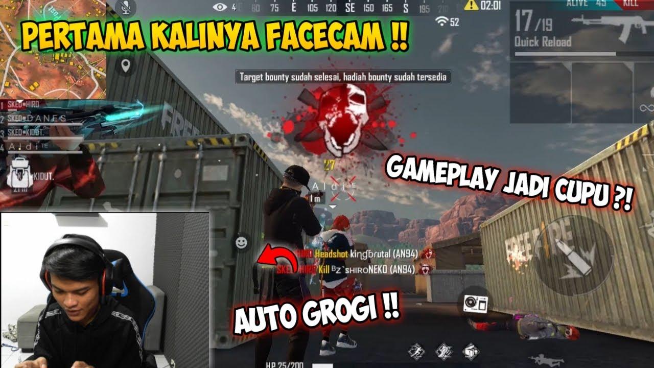 NYOBAIN FACECAM UNTUK PERTAMA KALINYA !! FREEFIRE BATTLEGROUND