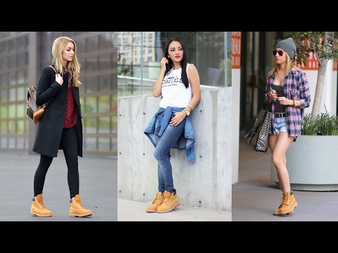 How To Wear Timberland Boots - Outfits With Timberlands