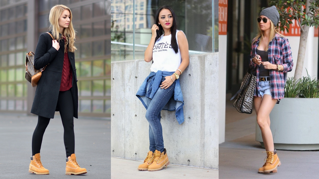 How To Wear Timberland Boots , Outfits With Timberlands