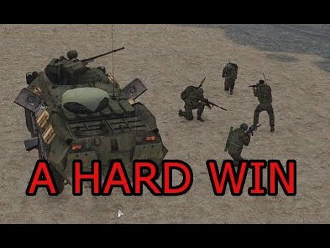 A Hard Win: Arma 3 Zeus Practice Ops