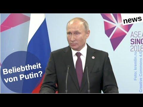 Wie beliebt ist Putin jetzt genau?