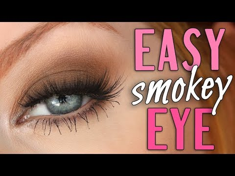 Easy Smokey Eye Tutorial | SHOWN IN REAL TIME