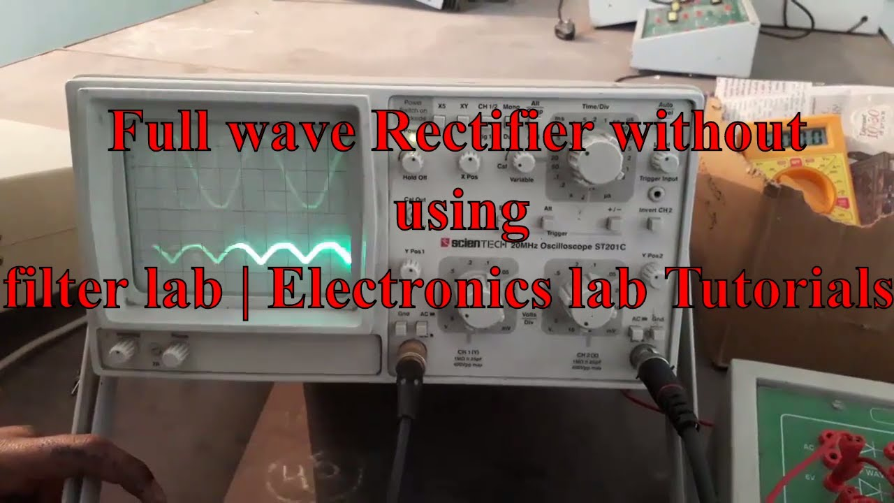 Full Wave Rectifier Without Using Filter Lab Experiment Bridge Circuit Diagram As Well Electronics Tutorials