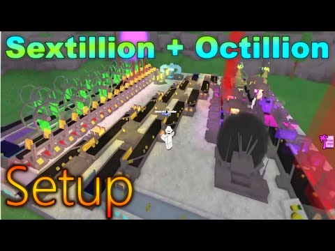 [Miner's Haven: ROBLOX] - Septillion + Octillion Setup