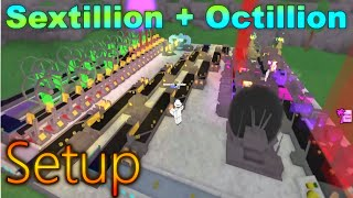 [Miner's Haven: ROBLOX] - Septillion + Octillion Setup