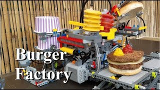 Burger Factory - Lego Technic 42054 Claas Xerion 5000 Trac VC