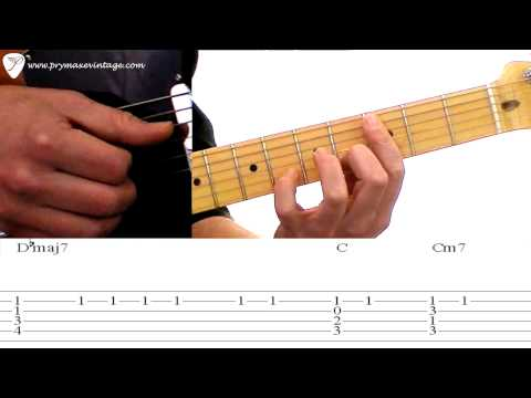 """Radiohead's """"Everything In It's Right Place"""" Guitar Lesson Cover"""