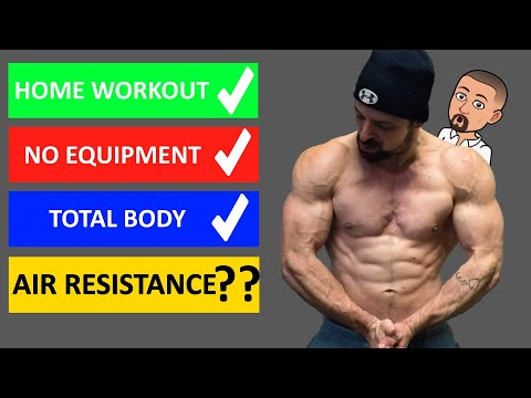 THE FUTURE OF WORKING OUT IS HERE! (Science Based Air Resistance Workout)