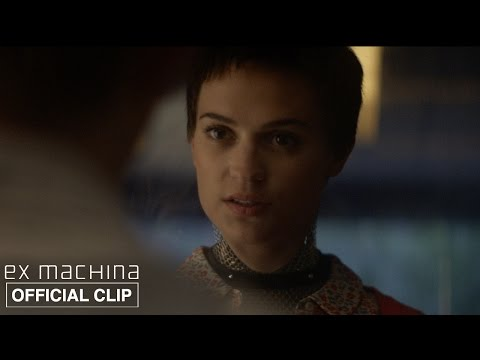 Ex Machina | What Will Happen If I Fail Your Test? | Official Movie Clip HD | A24