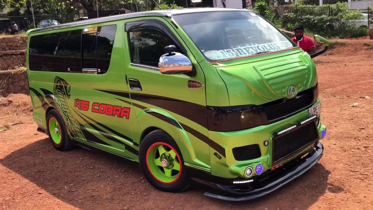 Toyota Kdh In Srilanka Youtube