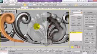 Уроки 3d max, уроки vray - интерьерный блокбастер - GRANDEUR ROOOOM - 3D Max