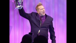 John Lydon Accepts the 2013 BMI Icon Award