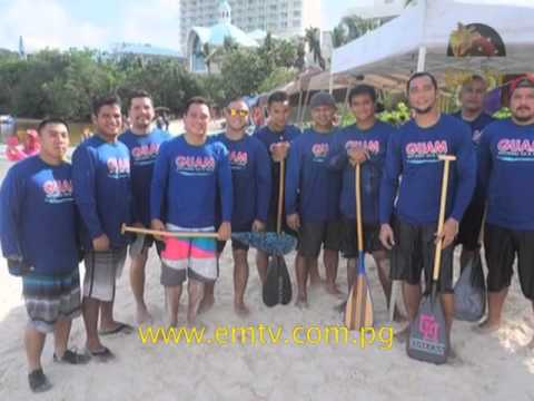 Guam Paddlers are Games Ready