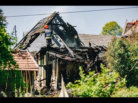Tragiczny skutek pożaru domu w Młynnem