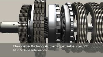 8-Gang-Automatgetriebe für Pkw (de)