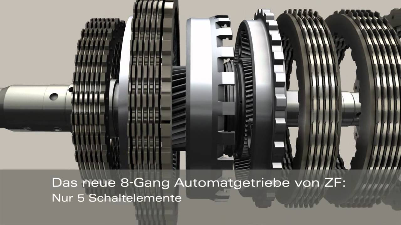 8 Gang Automatgetriebe F 252 R Pkw De Youtube