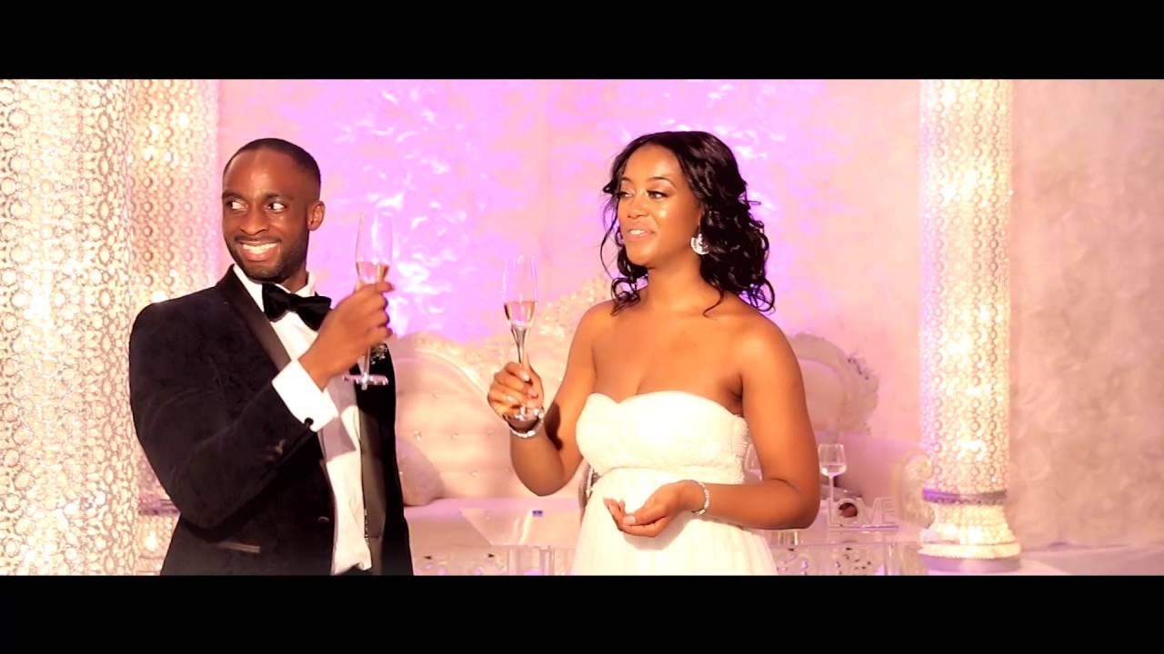 Justice & Sharonnita Beautiful Ghanaian Wedding Reception - YouTube