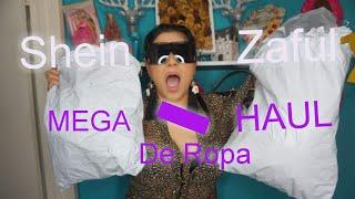 MEGA-HAUL de ropa SHEIN ZAFUL #Blancagarcia #haul