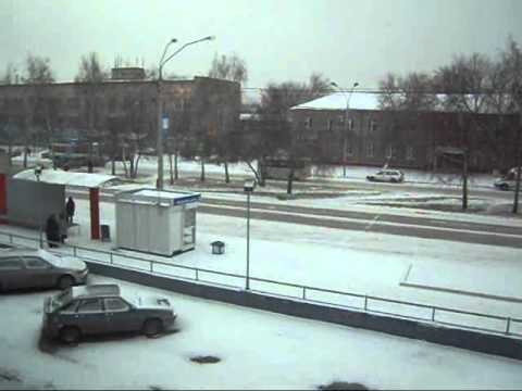 First Snow at Barnaul - 19Nov