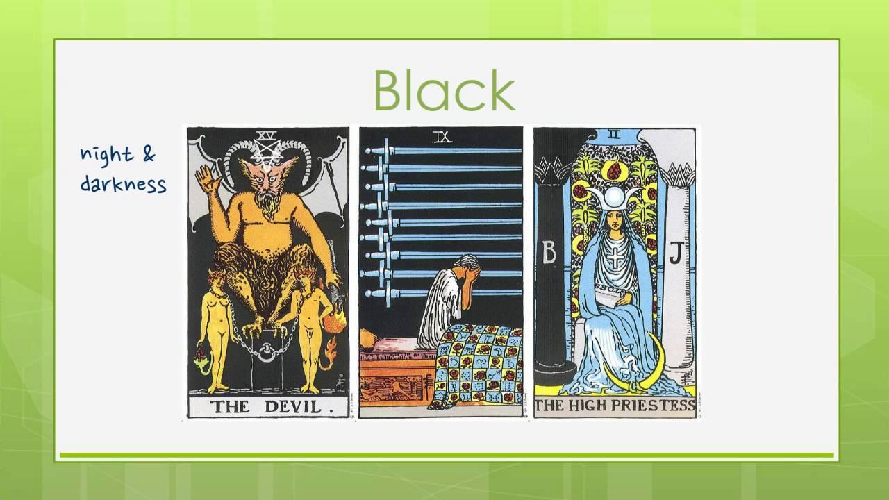 Reading Tarot Cards Symbols Colors In Tarot Youtube