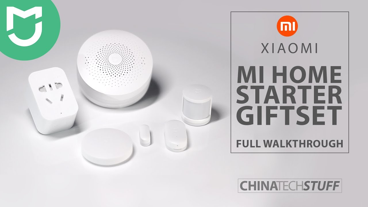 Xiaomi Mi Home Starter Set Walkthrough