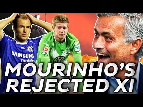 Robben, De Bruyne & Lukaku? Who makes José Mourinho's Rejected XI?