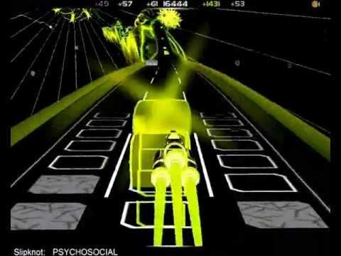 Slipknot - Psychosocial (audiosurf)