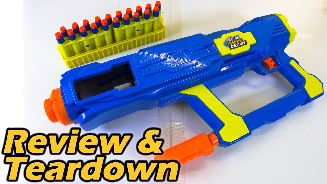 Buzz Bee Destiny Nerf Review and Teardown feat OutBack Nerf
