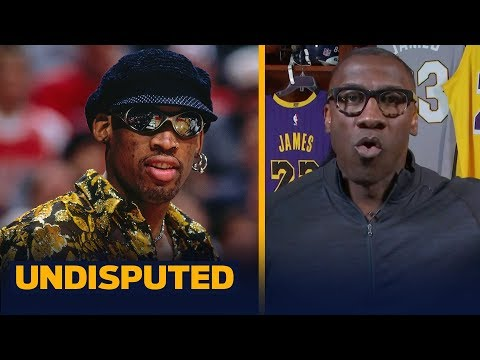 Shannon defends LeBron from Dennis Rodman's 'desire to win' comments | NBA | UNDISPUTED