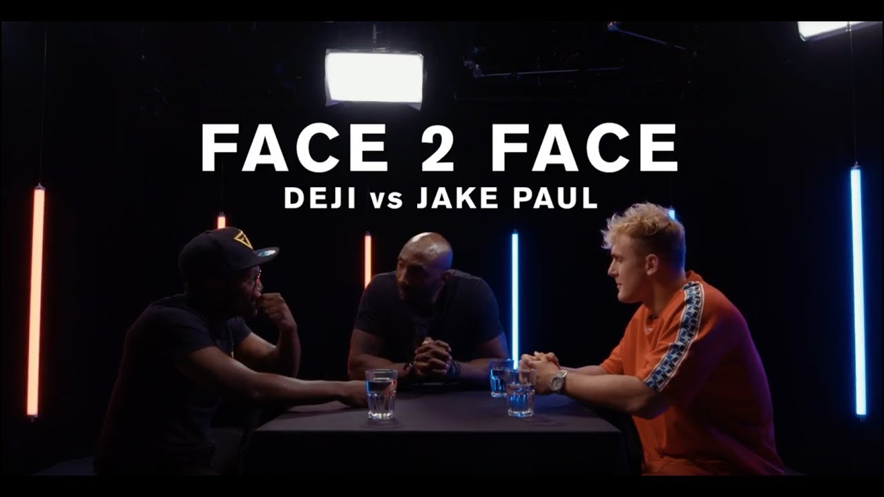 Deji Vs. Jake Paul - FACE 2 FACE