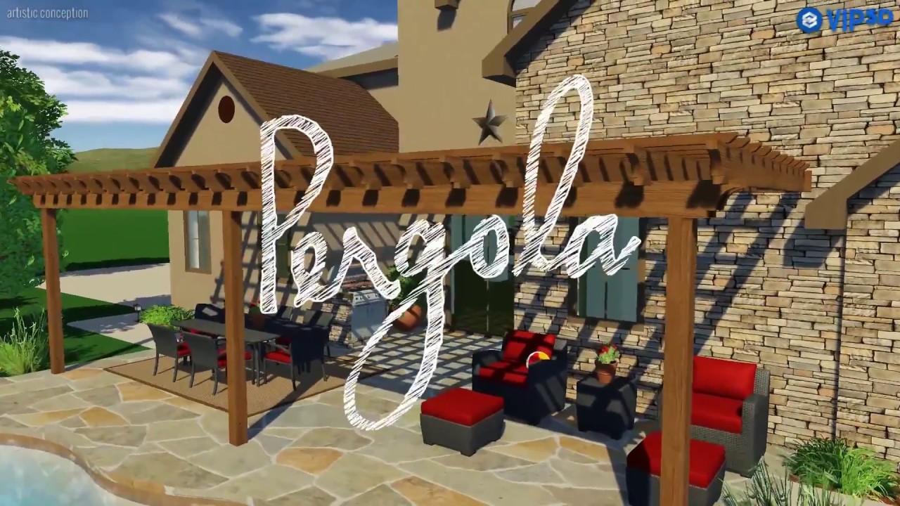 Pergola Tool Pergola Design Software Youtube