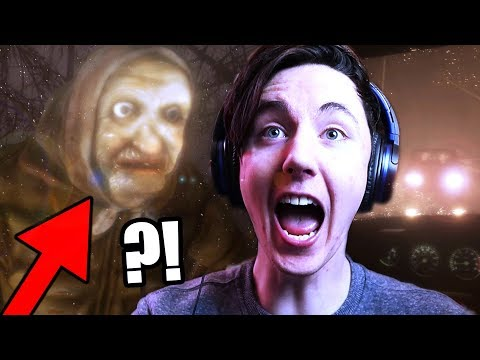 WHO IS THIS OLD LADY?! WARNING - SCARY! || BEWARE (Horror Game)