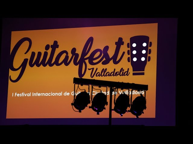 GuitarFestValladolid La 8 TVCYL 11/10/2017