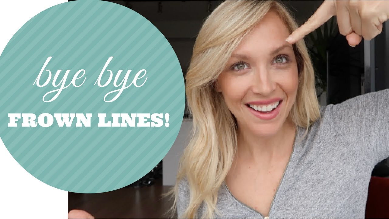 HOW TO GET RID OF FROWN LINES QUICK AND EASY NATURALLY ...