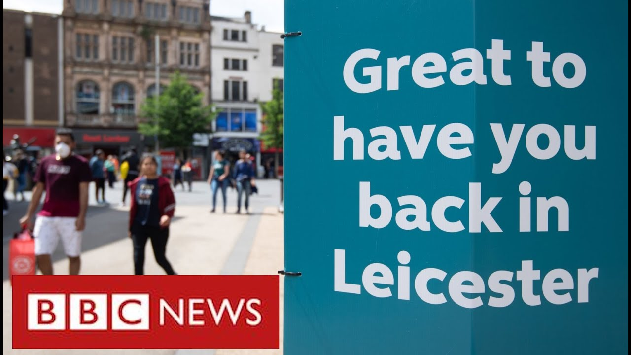 """Leicester faces new lockdown as top scientist warns UK """"is on a knife edge"""" - BBC News"""