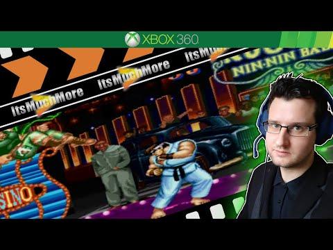 Street Fighter II : Hyper Fighting - Xbox 360 Gameplay Online HD
