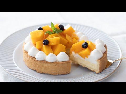 マンゴー・チーズタルトの作り方-mango-cheese-tart|hidamari-cooking