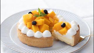 マンゴー・チーズタルトの作り方 Mango Cheese Tart|HidaMari Cooking