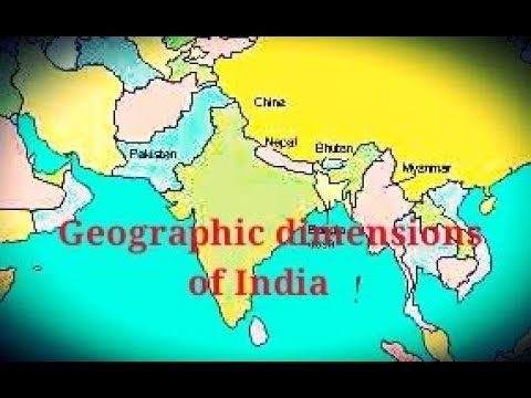 How to draw indian map about india geographic dimensions of how to draw indian map about india geographic dimensions of india in bengali gumiabroncs Gallery