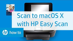 Scan to Mac