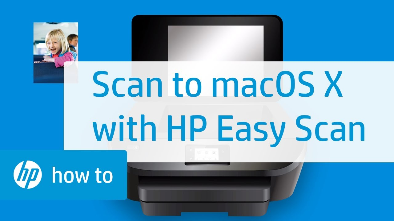 Scanning From An Hp Printer To Mac Os X With Hp Easy Scan