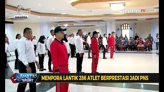 Menpora Lantik 286 Atlet Berprestasi Jadi PNS