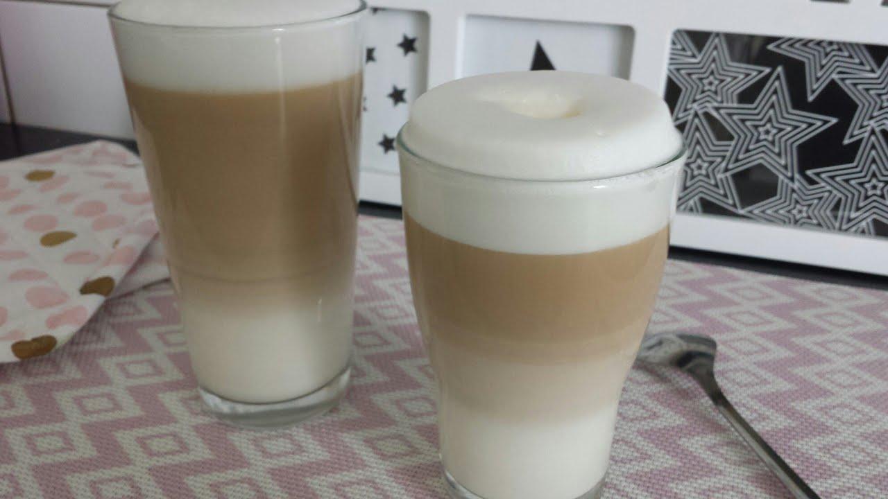 latte macciato selbermachen ohne maschine // macciato kahve bol