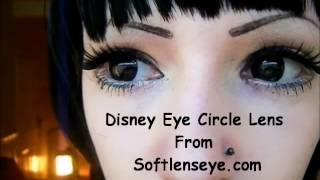 Disney Eye Circle Lens Review - Black