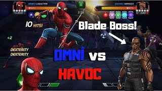 AW Blade Boss! ØMNÎ vs HAVOC! - Marvel Contest of Champions